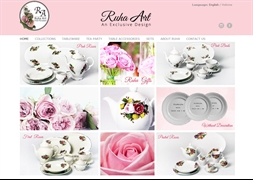 ruha art porcelain