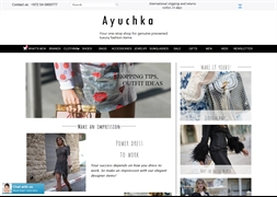 AYUCHKA -  Luxury Designer Fashion Brands